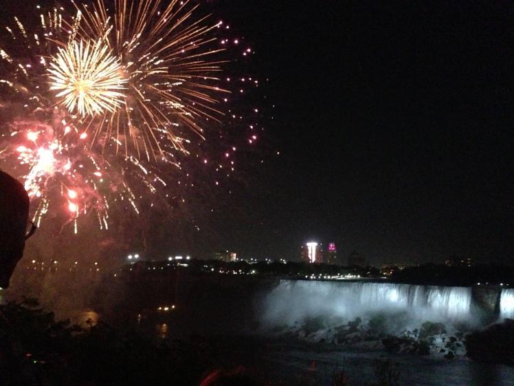 Fireworks @ Niagara Falls