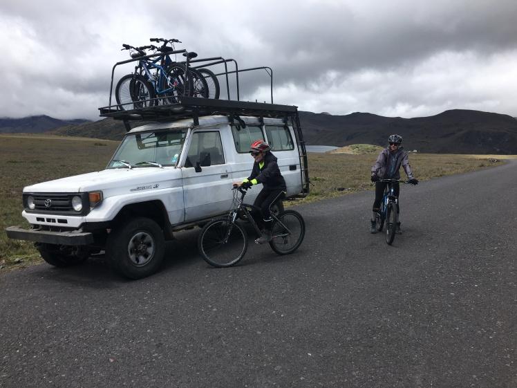 Biking Antisana Reserve